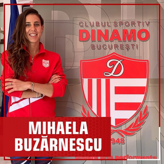 Mihaela Buzărnescu - Dinamo - Jocurile Olimpice de la Tokyo